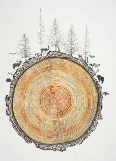 Drawing by Rebecca Clark -http://rebeccaclarkart.com/
