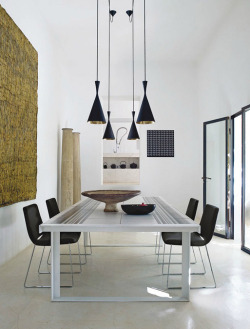 (via a modern home on ibiza | the style files)