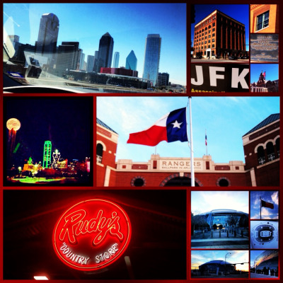 Dallas and Arlington, TX! #BBQ #Sports #History #UTA
