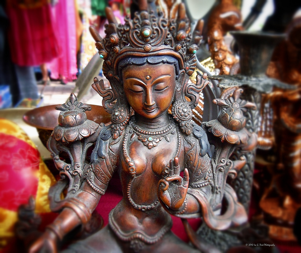kelledia:  White Tara Goddess on Flickr.