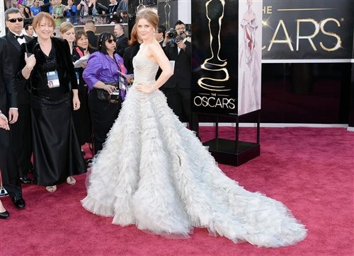 Slideshow: Stars shine on the Academy Awards red carpet  As the stars come out, who gets the prize for best dressed?