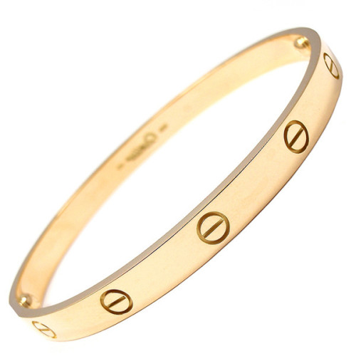 Cartier bracelet   ❤ liked on Polyvore (see more yellow gold bracelets)