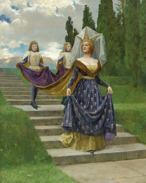 gsfdfdsa:  John Collier - The Grand Lady (1920)