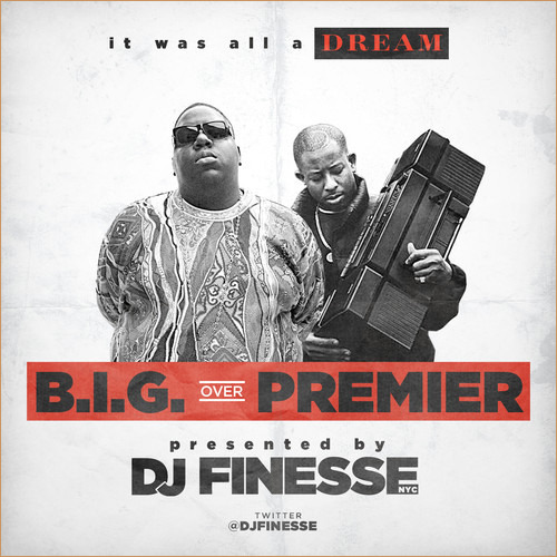 An instant classic just in time for warm weather listening. @DJFINESSE http://www.youtube.com/watch?v=neQJ2JIP1Fo uristocrat:  DJ Finesse – B.I.G. Over DJ Premier (Mixtape)  DJ Finesse releases a new tape which features Biggie Over DJ Premier. The mixtape made it's debut…  View Post
