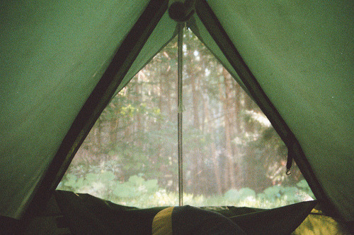 this little tent looks just like our little tent~