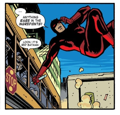 Red Batman by Chris Samnee & Mark Waid