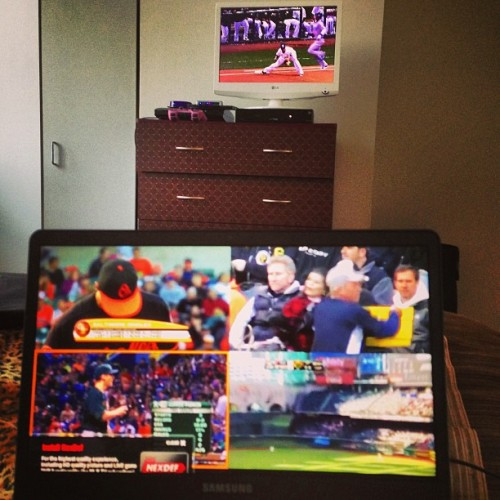 this is how i @MLBTV  #MLB