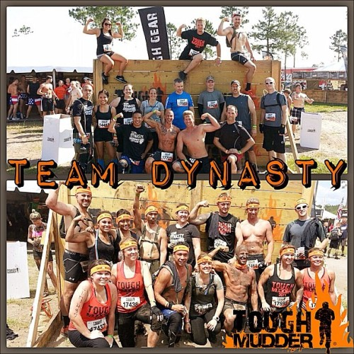 #toughmudder #jacksonville 2013 #beforeandafter pic. #teamdynasty did a great job finishing as a #team making sure everyone completed each challenging #obstacle. It's always a pleasure taking on these challenges with such awesome people! #ocrchallenge #fitness #fitfriends