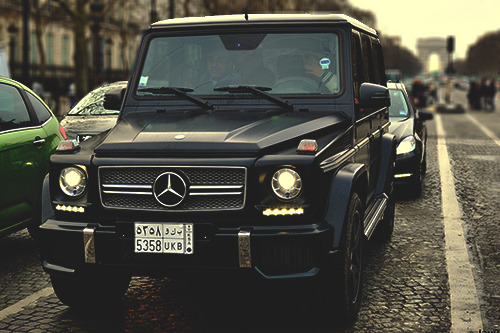 johnny-escobar:  G-Class Benz