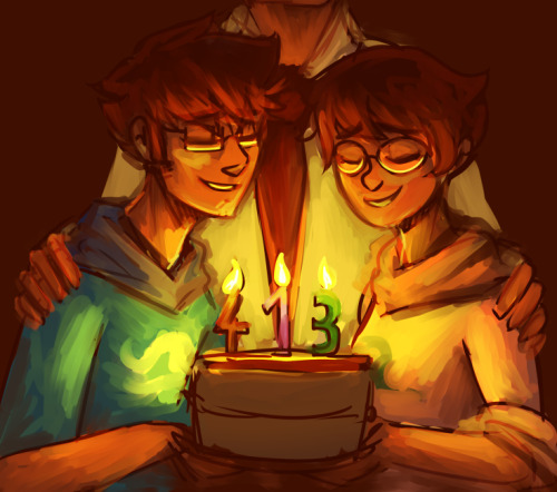revolutionator:  kylobe:  happy birthday kiddies  omg this is BEAUTIFUL