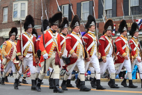 Lexington does Patriot's Day. (It's a Massachusetts thing…)