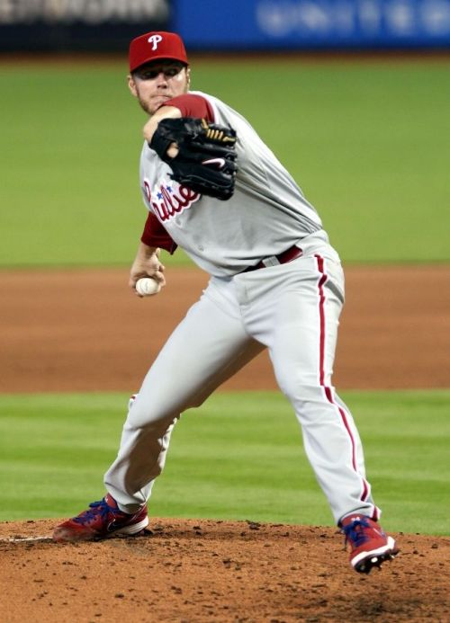 04/14/13 - Roy Halladay earns his 200th career win against the Marlins. Congrats Roy!