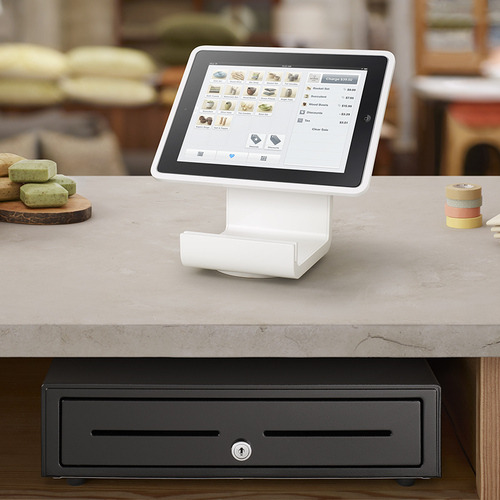 thisistheverge:  Square introduces $299 stand aimed at replacing cash registers  #want