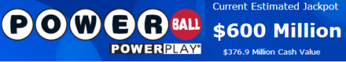 Powerball soars to $600 million; 2nd-largest jackpot in U.S. historyDetails: http://nbcnews.to/14czkgX