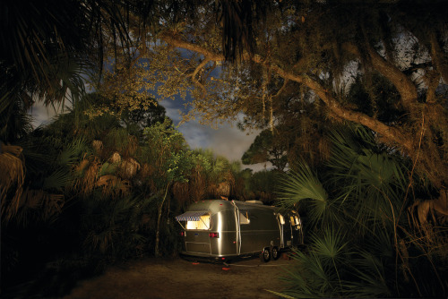 tikipop:  Airstream. Forever cool.  Photo by Frank Hallam Day as featured on the cover of Airstream Life magazine.