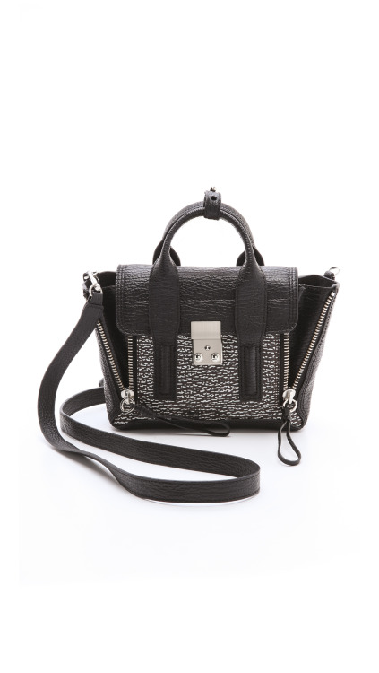 wantering:  3.1 Phillip Lim Two Tone Mini Pashli Satchel