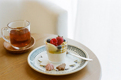 preteritus:  panna cotta by I.E. on Flickr.
