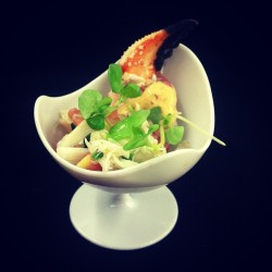 cheffchris:  Crab Claw Salad
