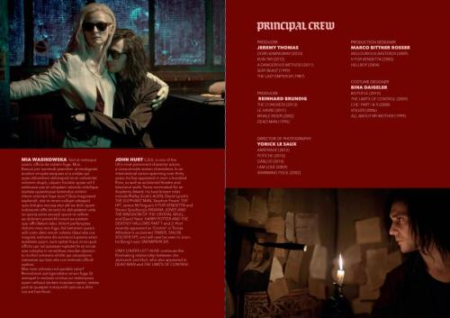 suicideblonde:  Only Lovers Left Alive press kit  Tilda Swinton and Tom Hiddleston as vampires as directed by Jim Jarmusch!