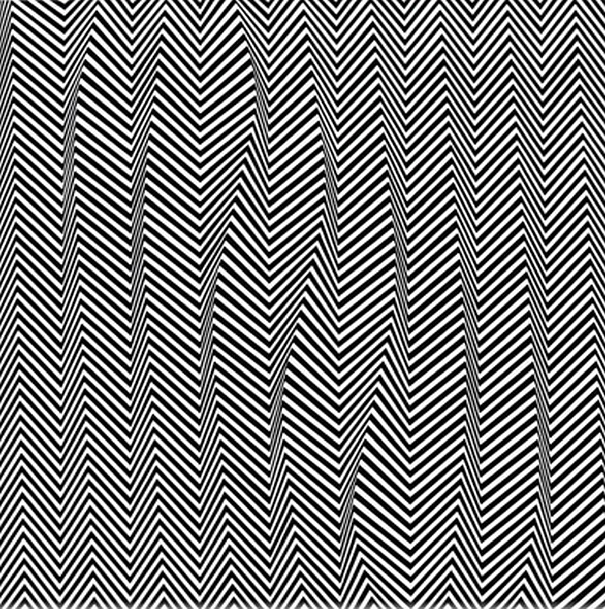 Bridget Riley - Descending (1965)