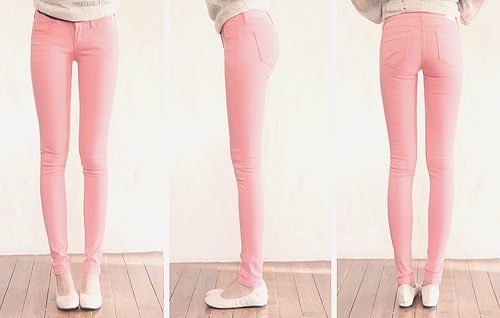 Searching for pink pants!