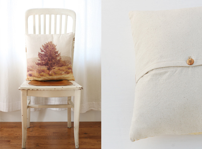 Landscape Pillow | Poppytalk Throw pillows are one of the quickest ways to perk up your couch or bed. If you don't have a photo you want to use on your pillow, try googling for an image you'd like (don't forget to find something that is hi-res). Or grab your camera and go out and get the image you want!