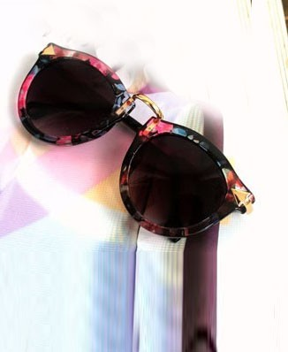 chicnova review sponsored review online store cute sunglasses round sunglasses floral flowery floral sunglasses grunge kfashion jfashion street style adorable lovely fashion blogger lana del rey shop online shop online shopping