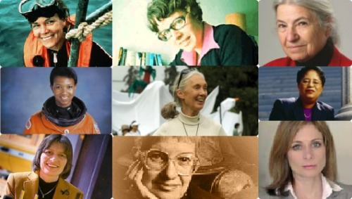 mothernaturenetwork:  9 female trailblazers in science Meet some the women who are changing the face of modern science.
