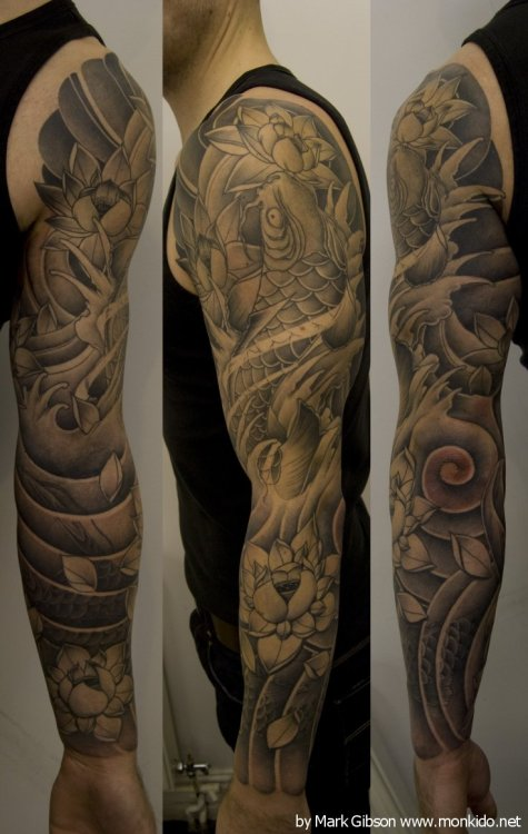 Ben Johnson's Japanese sleeve by Mark Gibson