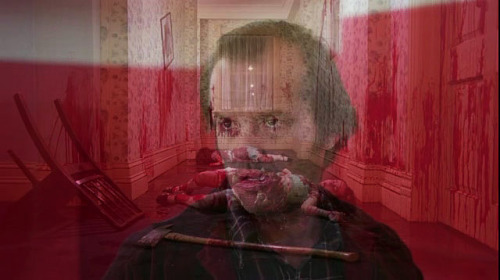 Jack Torrance. Clown paint. Room 237.