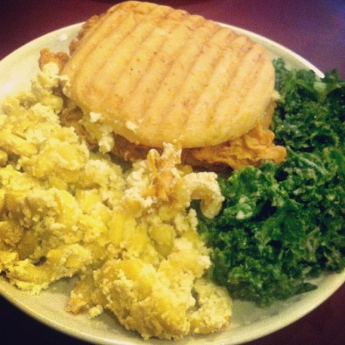 thecleanplatesociety:  My #vegan lunch was #DELICIOUS  The best vegan food ever from Everlasting Life Cafe located in Washington, DC.