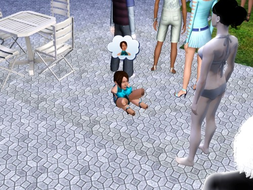simsgonewrong:  Editing age in CAS using cheats never ends well
