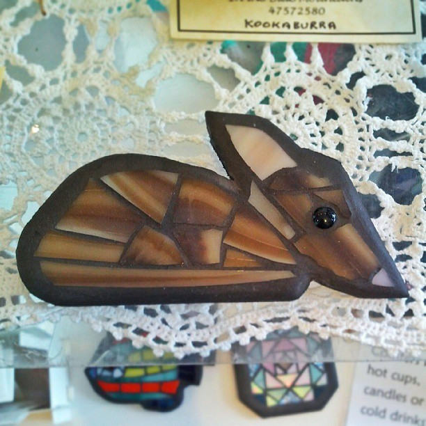 Bilby #mosaic  (at The Nook)