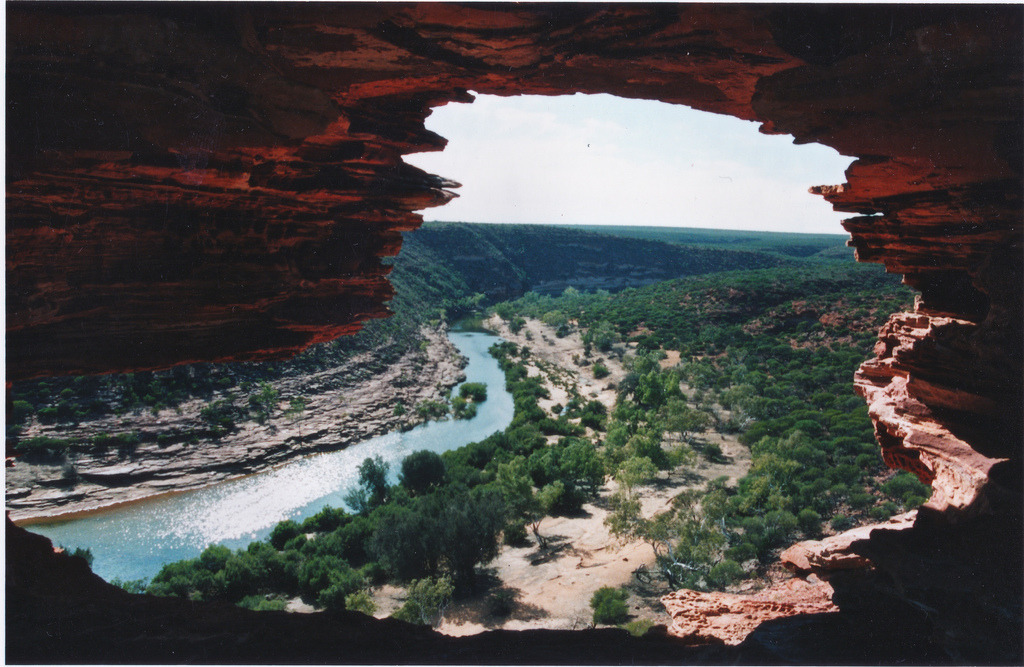 adrifts:  Nature's Window, Murchison Gorge, Western Australia