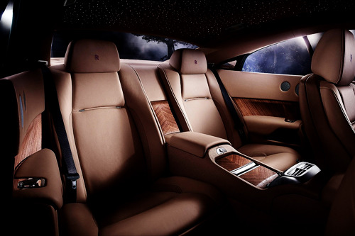 richmenslife:  The New 2013 Rolls Royce Wraith. Interior #02