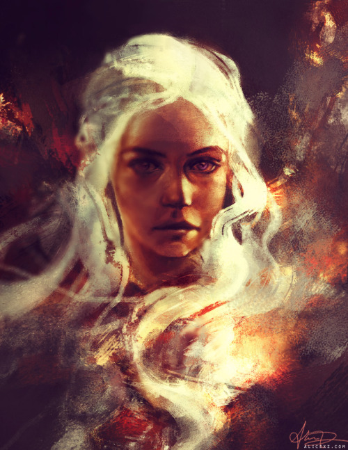 One does not fuck with Daenerys Targaryen. It is known. (Warm-up sketch for today… might do more on it later. How awesome was Game of Thrones yesterday?)