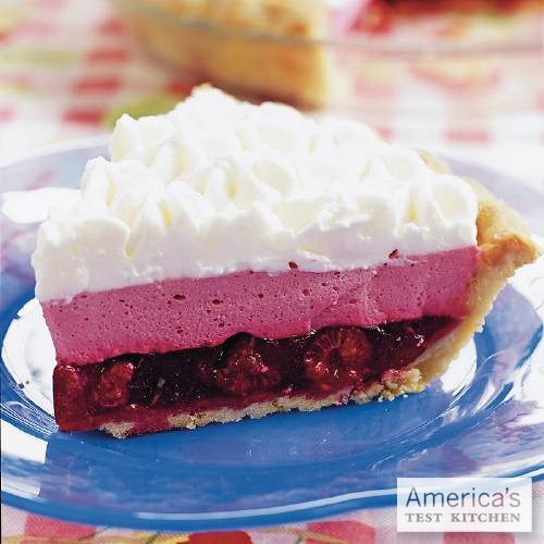 Happy National Pie Day! Celebrate with a slice of our year-round favorite: Raspberry Chiffon Pie.