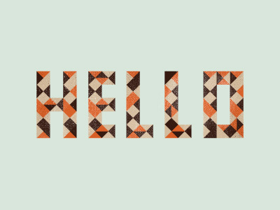 HELLO by Mads Burcharth