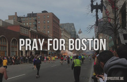 staypozitive:  Our hearts and prayers go out to all those affected by the Boston marathon explosion.  The Lord is near the broken hearted. Psalm 34:18