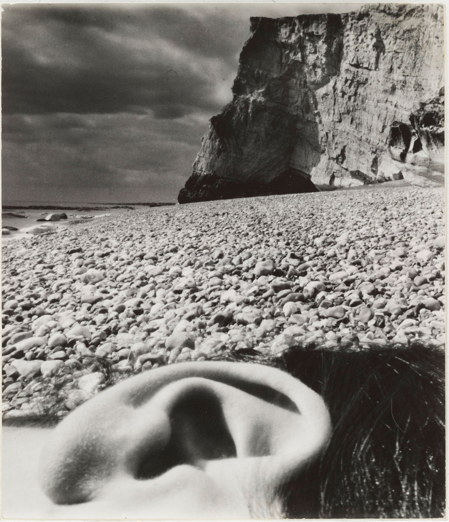 zeigarnik:  Bill Brandt (British, born Germany. 1904–1983). Seaford, East Sussex Coast. 1957.