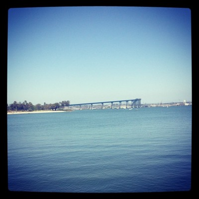 Ventured out into the sunlight today before work ☀#coronado #sun #work #fail #dontwanttowork  (at Glorietta Bay)