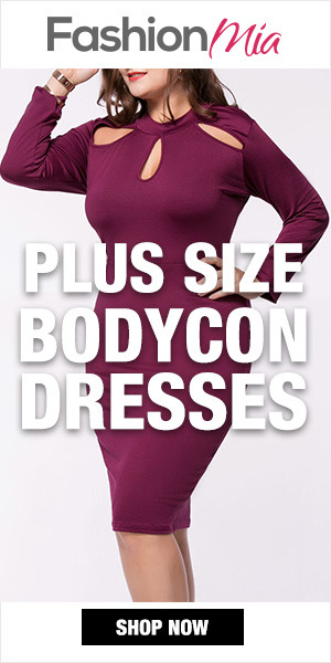 Fashionmia Bodycon Dresses for Plus Size