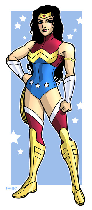 love-and-radiation:  Dennis Calvert's Wonder Woman.