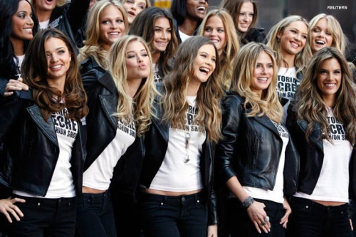 refreshionist:  Victoria's Secret Models in New York