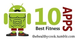 "thehealthycook:  Hey everyone! These are my 10 favorite fitness/health apps I have on my Iphone that I recommend that you get!  1. Fitocracy Track your physical activities (anything from weightlifting to jogging to power gardening) and view your progress with Fitocracy's performance graphs. Your activities will earn points that unlock badges and ""level up""s. Invite your friends or join a Fitocracy group of like-minded people (like joggers, weightlifters, etc.) to build your network. Like a little friendly competition? Fitness challenges abound on Fitocracy.  2. Fooducate.  Fooducate is a personal grocery advisor, helping people make healthy food choices for their families.It lets shoppers scan a product bar code in the grocery store for an instant read on a food's health value, represented by a letter grade from A to D. Once a food has been scanned and recognized, the app offers healthier alternatives or can compare two products side-by-side. This free app is worth having. 3. Healthy Out Healthy Out is an app that helps users find dishes and restaurants that's on your diet. All you do is put in your diet(weight watchers, paleo, low carb, vegan, etc) and type of cuisine/dish you want, then voila! It comes up with a result that's nearby! It's very useful if your on the road and want something as close to healthy you can get. 4. Whole Foods Market Recipes Whole Foods Market is an American chain at the forefront of the organic movement and its collection of recipes will never leave you short of inspiration. The smartest element of this app is how many ways you can search the database. For example, you can input meal type, dietary restrictions or better yet, just whatever ingredients you have in the cupboard, and a recipe will be instantly suggested. Genius. While Whole Foods Market is yet to open in Australia, this colourful and informative app is the next best thing. 5. Superfood HD Form meets function in this beautiful app, which guides you through the best in antioxidant-packed, vitamin-rich ingredients. With an emphasis on raw foods, it is like having a personal nutritionist in your handbag. You'll never eat the same way again. 6. Pocket Yoga HD Three practices, three difficulty levels and three durations combine to offer a choice of 27 individual sessions. All sessions feature illustrated examples of the 145 poses in the program, a log to track your progress and updates with new poses. 7. Meal snap. Don't know how many calories is in your dish or meal? Simply take a picture of your food/dish and Meal Snap will tell you how many calories it is! It's that simple!  8. Burn it. Ate something you weren't suppose to? With the app Burn It, you put in the food you ate and what exercise you want to do and the app tells you how long you have to workout to burn it off.  9. My Fitness Pal I take this everywhere I go. This app is one of the best apps to track your calories, water intake, and exercises! Has over thousands of foods/dishes you can choose from in their database!  10. Simply Being: Guided Meditation for Relaxation and Presence Stillness of mind is one of the key secrets to healthy living and this elegant application will not only help you begin meditation but guide you along the way as you become more advanced. It features clear directions, tranquil backgrounds and a choice of session lengths, and meditators are offered an impressive array of options and great value. Hailed by The New York Times and Yoga Journal, it is one of the standouts in an ever growing category. Tune in and tune out. 11. (BONUS!) Pandora Radio. Okay so it isn't really a fitness or health app, but you can create your own custom stations for when you workout! Has every song you can think of that can keep you pumped up and motivated for your workout! Note: I am not taking credit for this post. Some are written by me and some aren't."