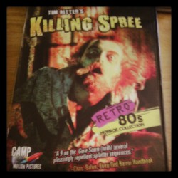 Newest dvd purchase. I hope it is as awful as it looks. #horror #slasher #80s #badhorror