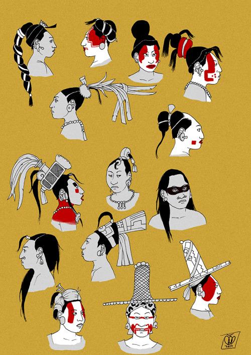 fashion female women hairstyle maya headdress indigenous mayan sombrero headwear jaina Mesoamerica historical fashion tikal headgear stela Calakmul Indigenous fashion Classic Period el peru yaxchilan lady ok ayin Non-Western Historical Fashion