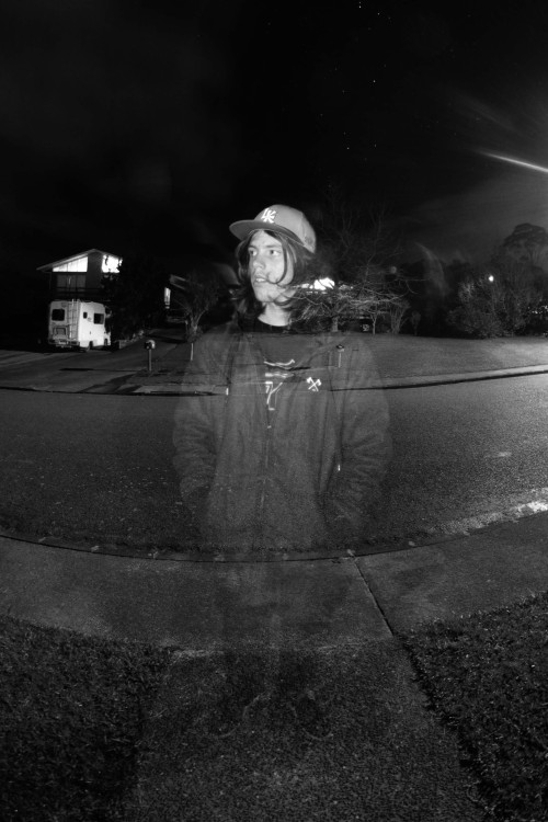 Long Exposure Self Portrait - 2011