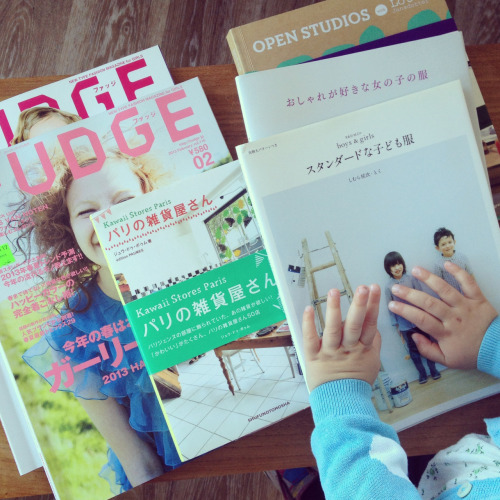Japanese fashion magazines, pattern catalogs, store and studio design books = heaven More on Inspiration