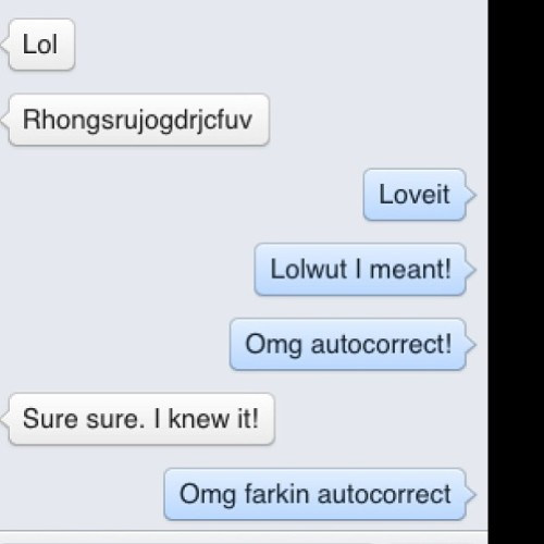 Autocorrect- making embarrassing situations since the mid 2000's 😁😒 #autocorrect #embarrassing #ihateautocorrect
